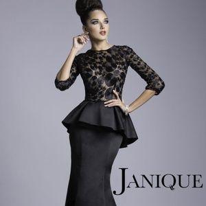 Janique JQ3408 Black Dress